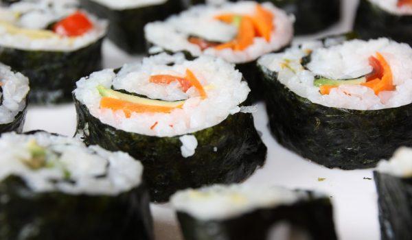 sushi para veganos