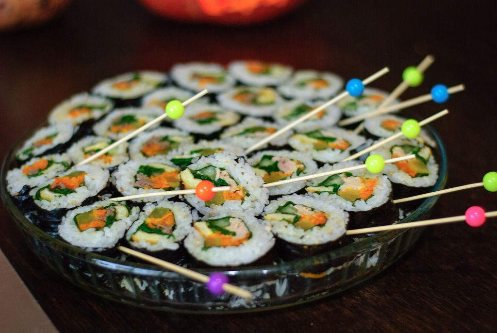 sushi Halloween deJérôme Decq (Flickr)