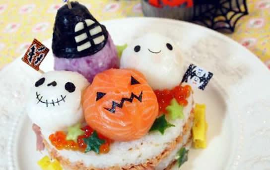 sushi para Halloween