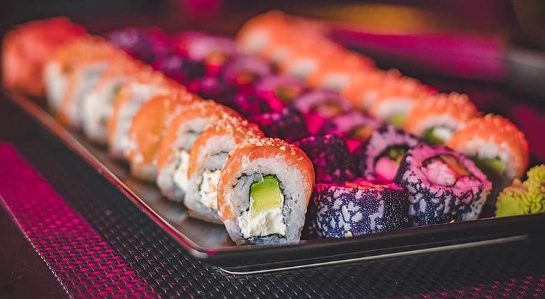 como servir el Sushi