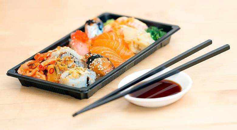 sushi para llevar